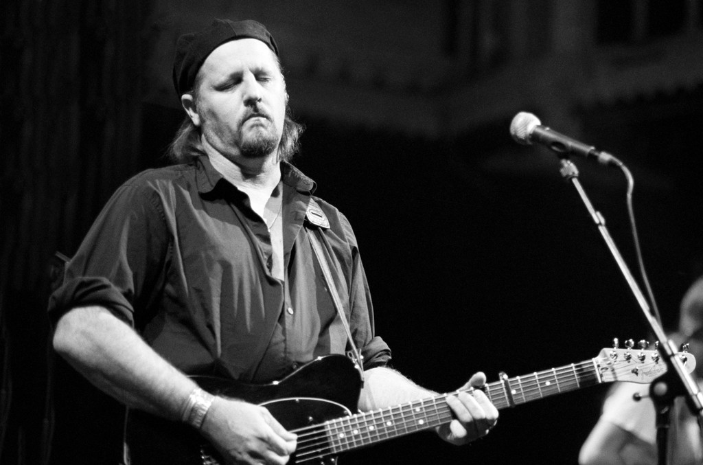 Jimmy LaFave performs at the Paradiso on Oct. 4, 2001 in Amsterdam, Netherlands.