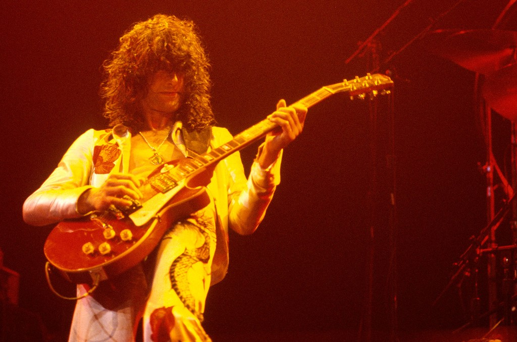 Jimmy Page from Led Zeppelin