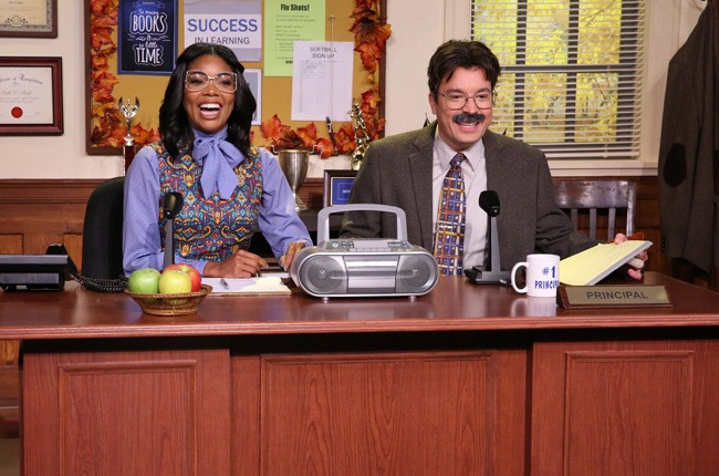 Gabrielle Union and Jimmy Fallon