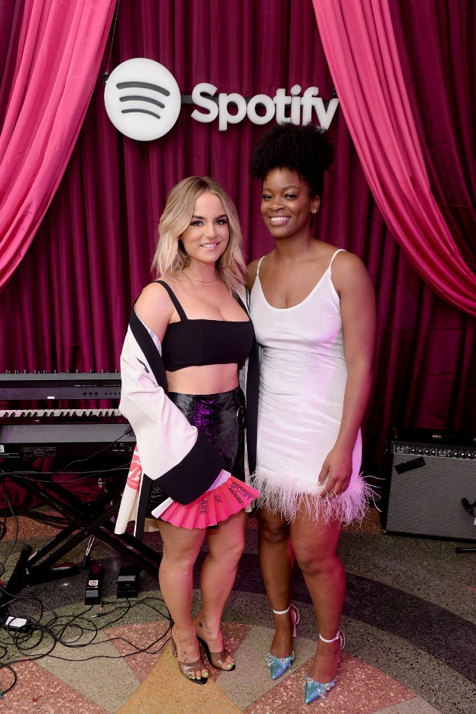 JoJo and Ari Lennox