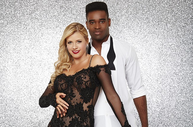 Jodie Sweetin and Keo Motsepe Dancing with the Stars