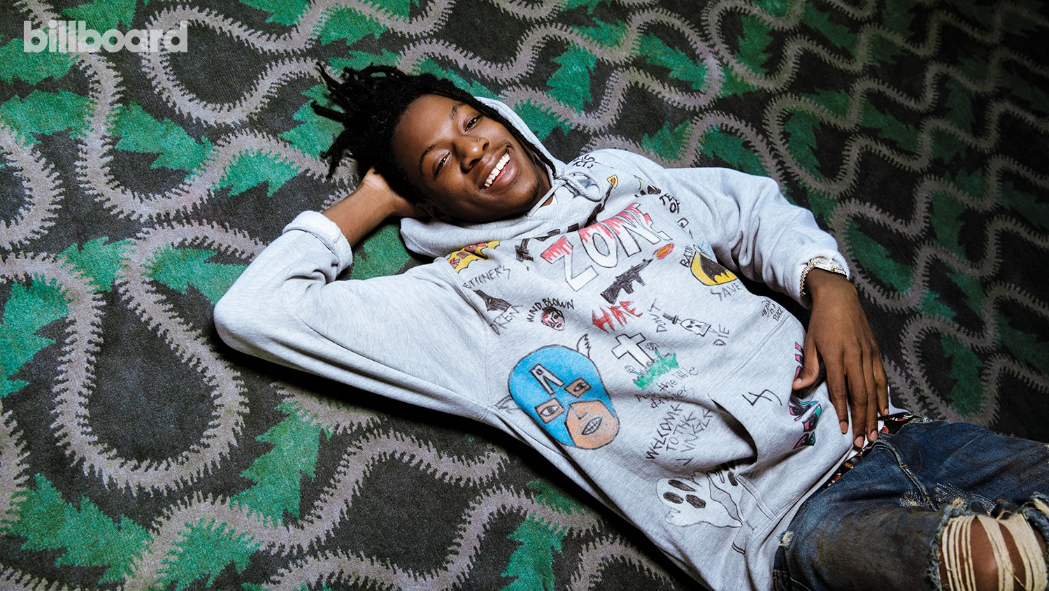 Joey Bada$$ photographed March 3 at The London West Hollywood.