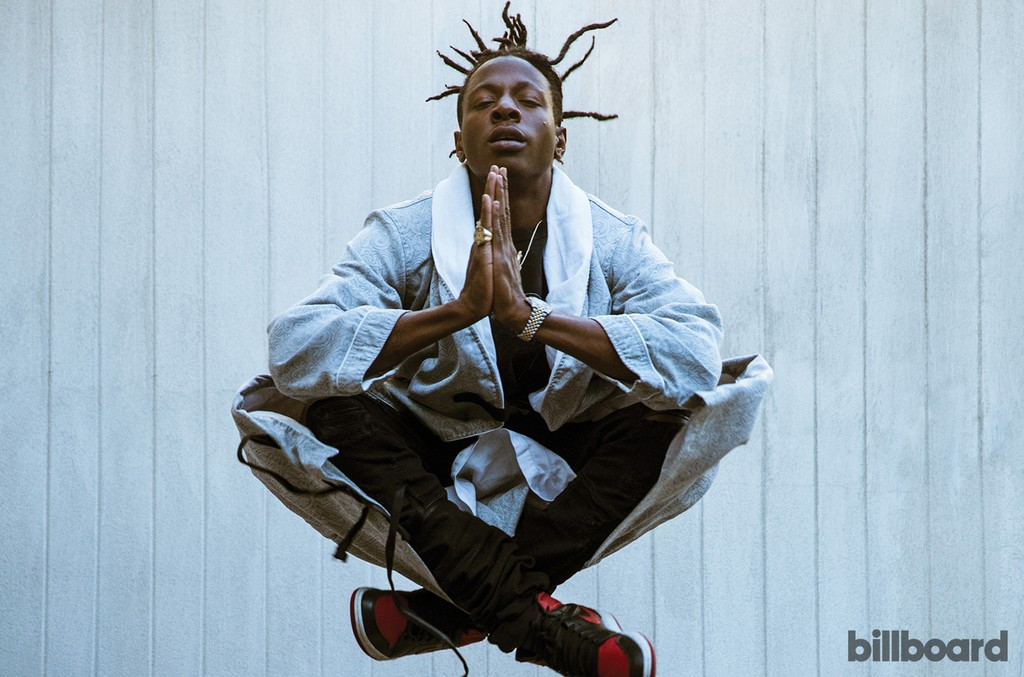 Joey Bada$$ photographed March3 at The London West Hollywood.