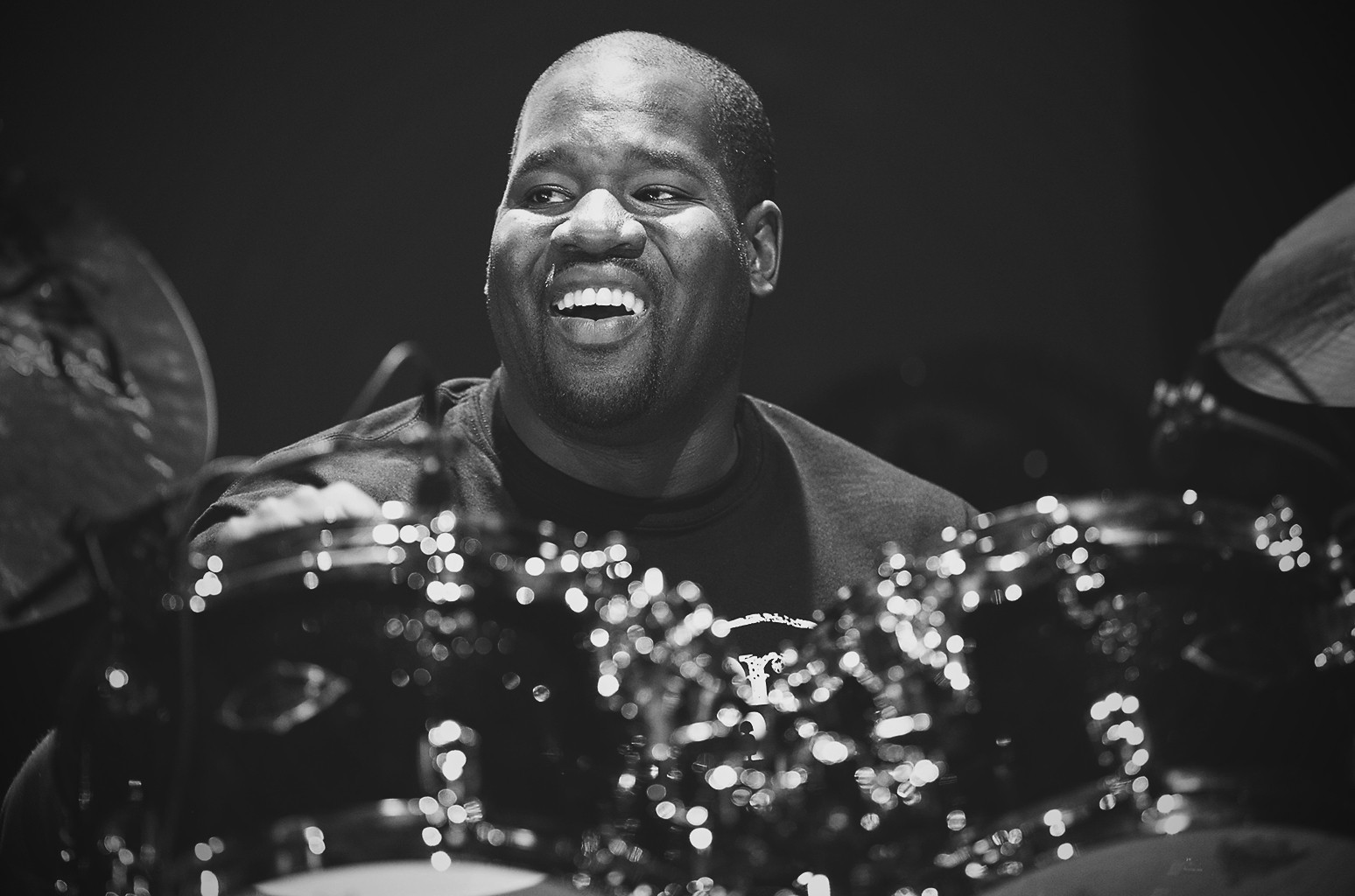 John Blackwell attends Guitar Center's Drum-Off Grand Finals event at Club Nokia on Jan. 19, 2013 in Los Angeles.
