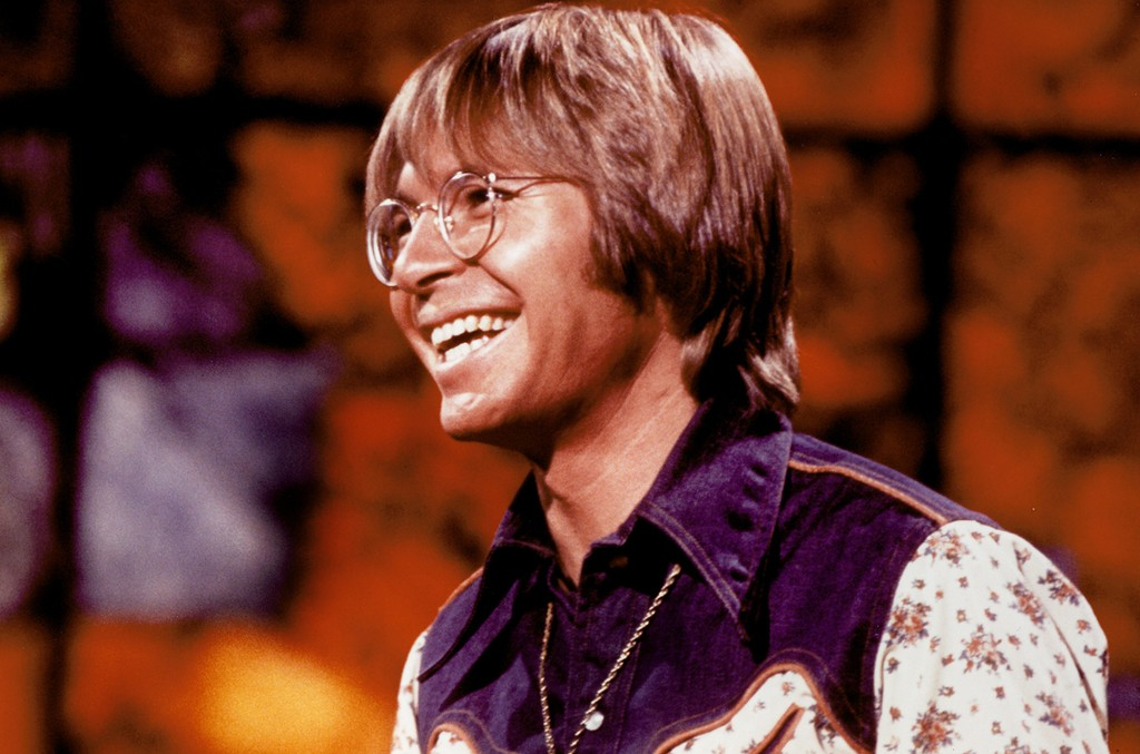 John Denver photographed in the 1970s.