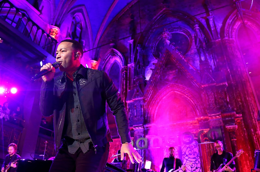 John Legend performs onstage at Pandora Presents on Dec. 8, 2016 in New York City.