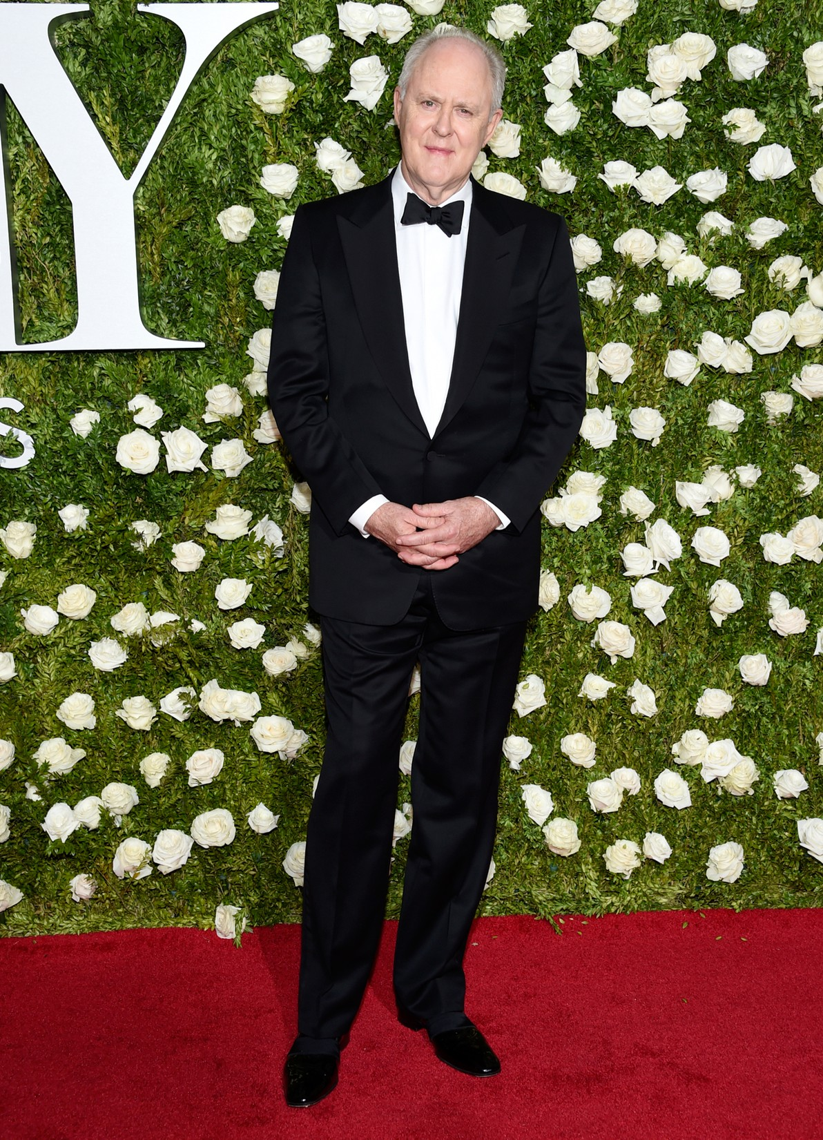 John Lithgow arrives at the 71st annual Tony Awards at Radio City Music Hall on June 11, 2017 in New York City.