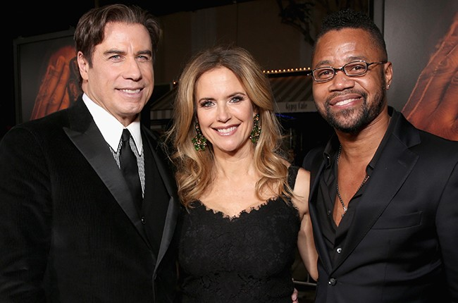 John Travolta, Kelly Preston and Cuba Gooding J