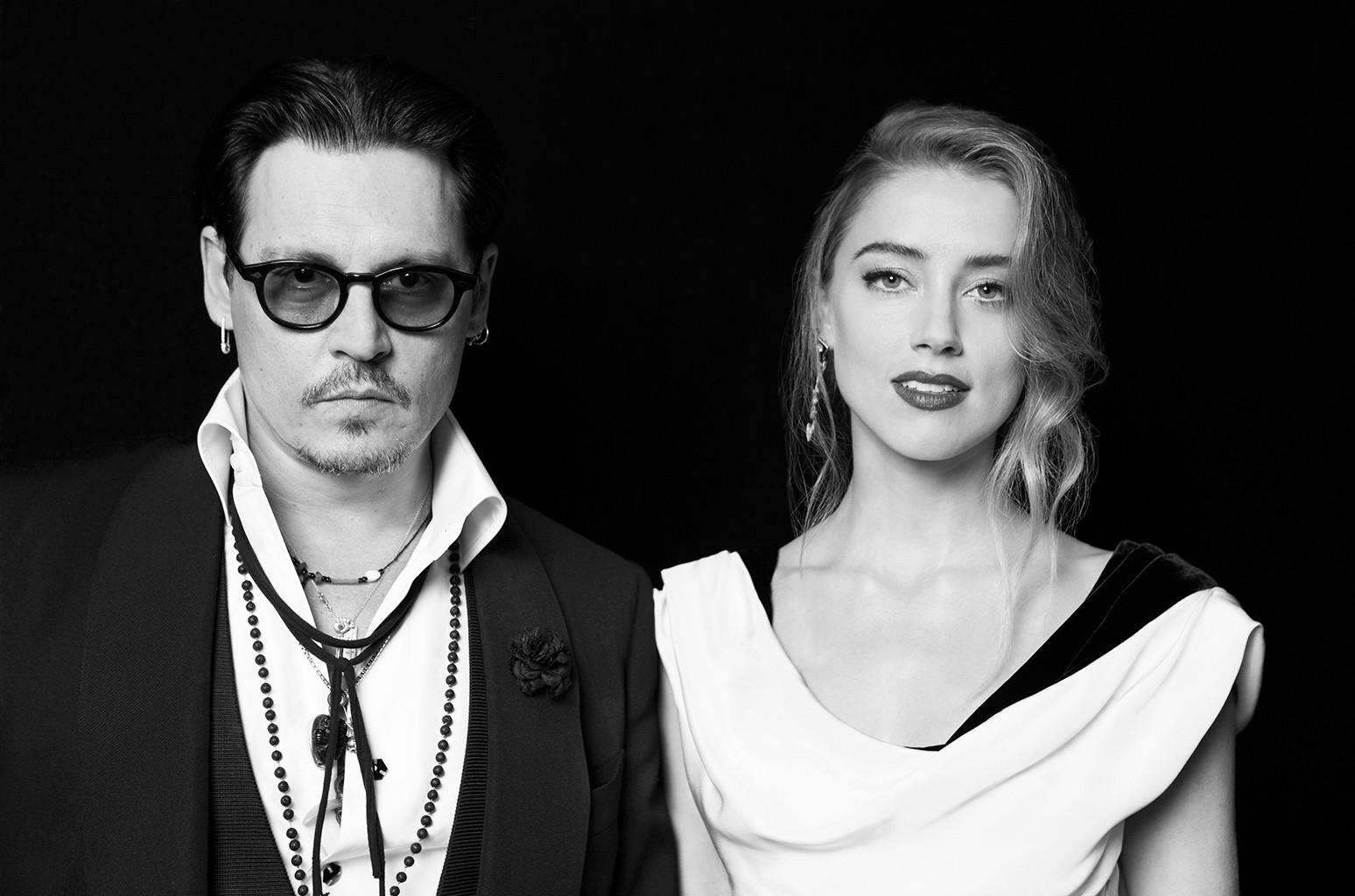 Johnny Depp and Amber Heard