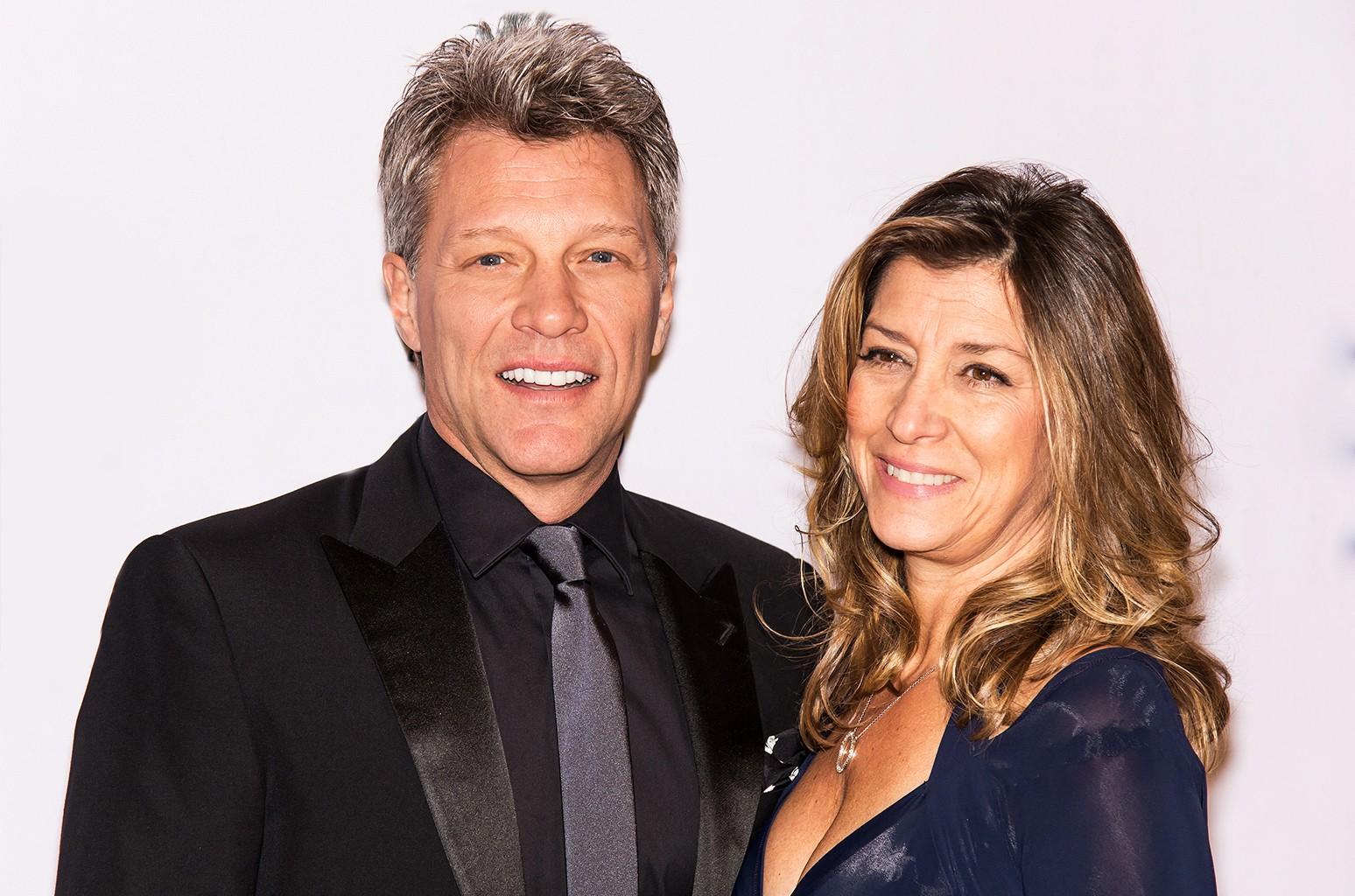 Jon Bon Jovi and wife Dorothea Hurley, 2014