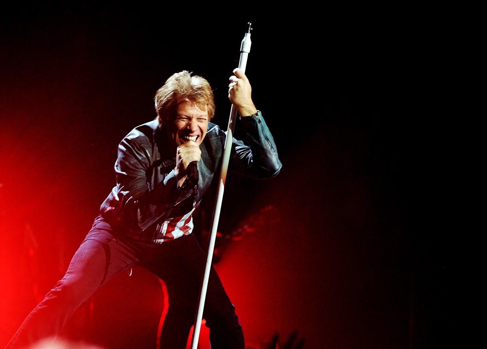 Jon Bon Jovi of the band Bon Jovi