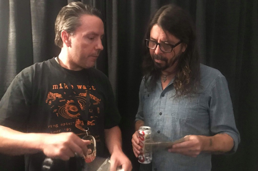 Jon Box with Dave Grohl