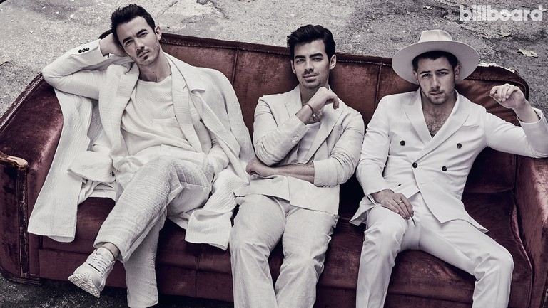 <p>From left: Kevin, Joe&nbsp&#x3B;and Nick Jonas photographed on April 11, 2019 at Fox Studios in Los Angeles.&nbsp&#x3B;Styling by Avo Yermagyan.</p>