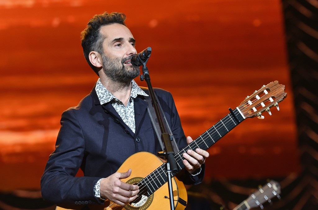 Jorge Drexler performs at the Mandalay Bay Events Center on Nov. 19, 2014 in Las Vegas.