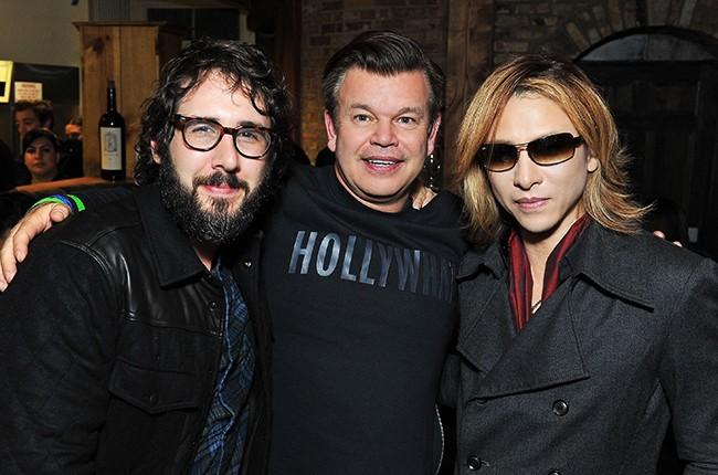 Josh Groban, Paul Oakenfold and Yoshiki attend ChefDance Park City 2016