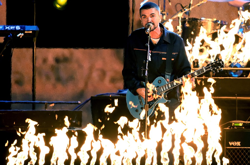 Juanes performs onstage during The 17th Annual Latin Grammy Awards at T-Mobile Arena on Nov. 17, 2016 in Las Vegas.