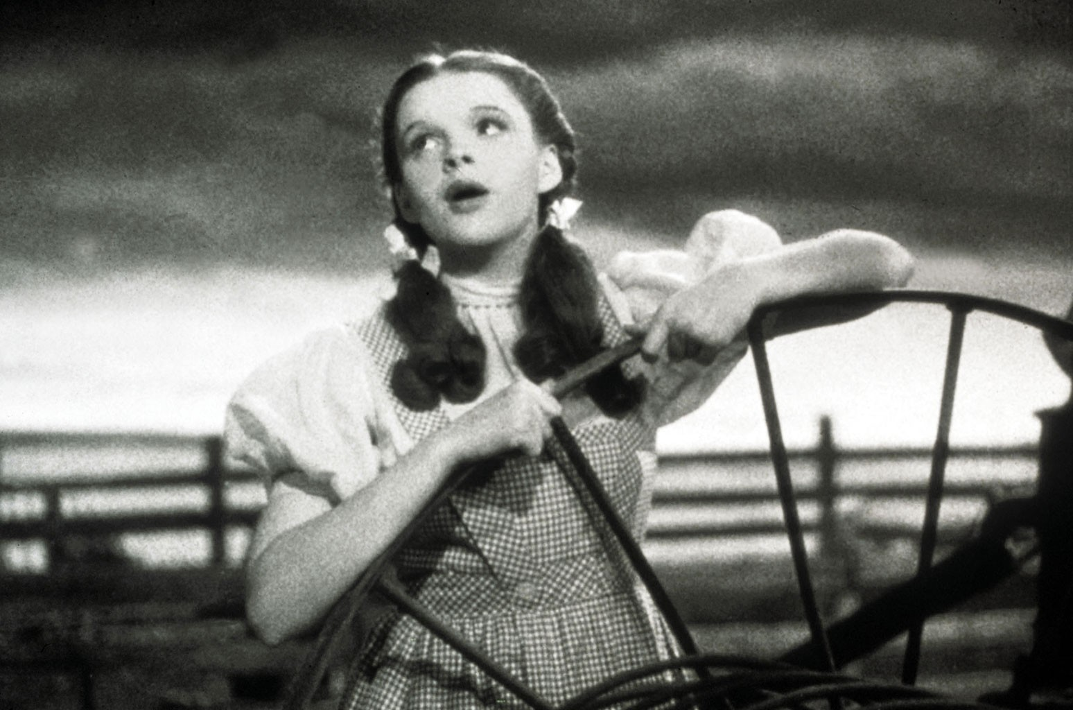"""Judy Garland in """"The Wizard Of Oz"""""""