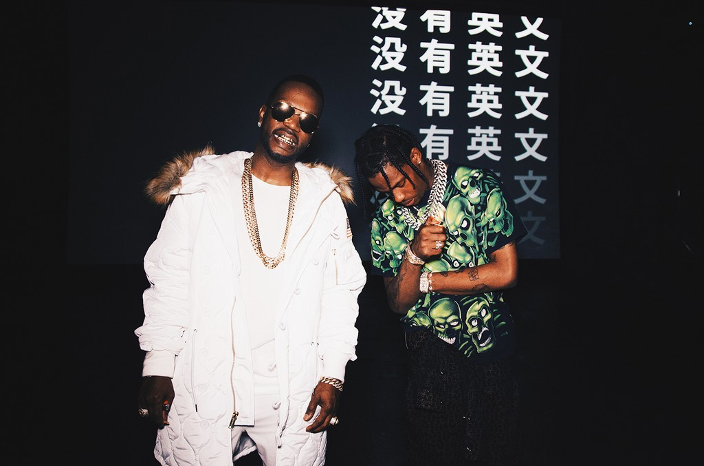 Juicy J and Travis Scott