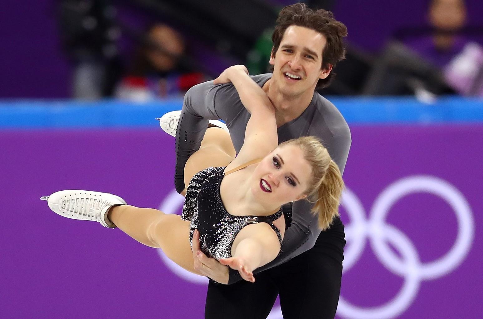 Julianne Seguin and Charlie Bilodeau of Canada
