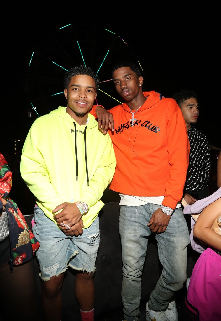 Justin Combs and Christian Combs