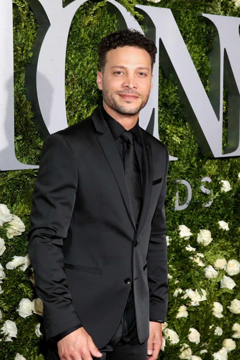 Justin Guarini attends the 2017 Tony Awards at Radio City Music Hall on June 11, 2017 in New York City.