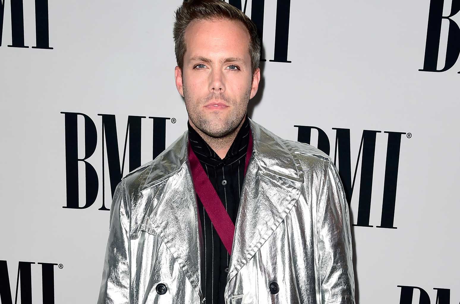 Justin Tranter attends The 64th Annual BMI Pop Awards, honoring Taylor Swift and songwriting duo Mann & Weil, at the Beverly Wilshire Four Seasons Hotel on May 10, 2016 in Beverly Hills, Calif.