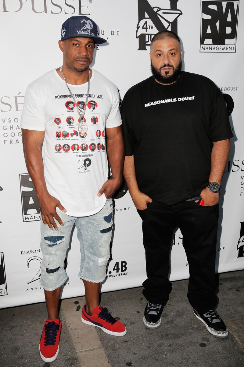 "Kareem ""Biggs"" Burke and DJ Kahled"