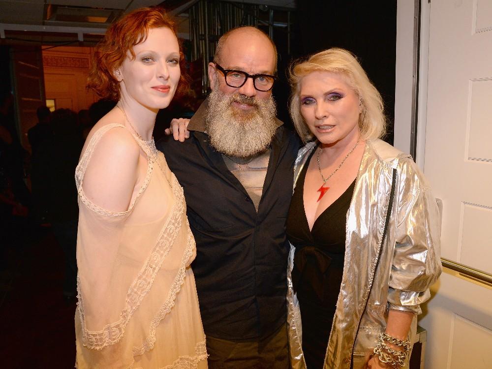 Karen Elson, Michael Stipe Debbie Harry David Bowie 2016