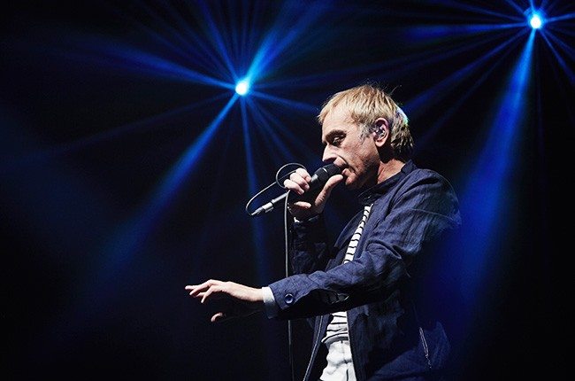Karl Hyde of Underworld performs at at Columbiahalle on March 17, 2016 in Berlin, Germany.