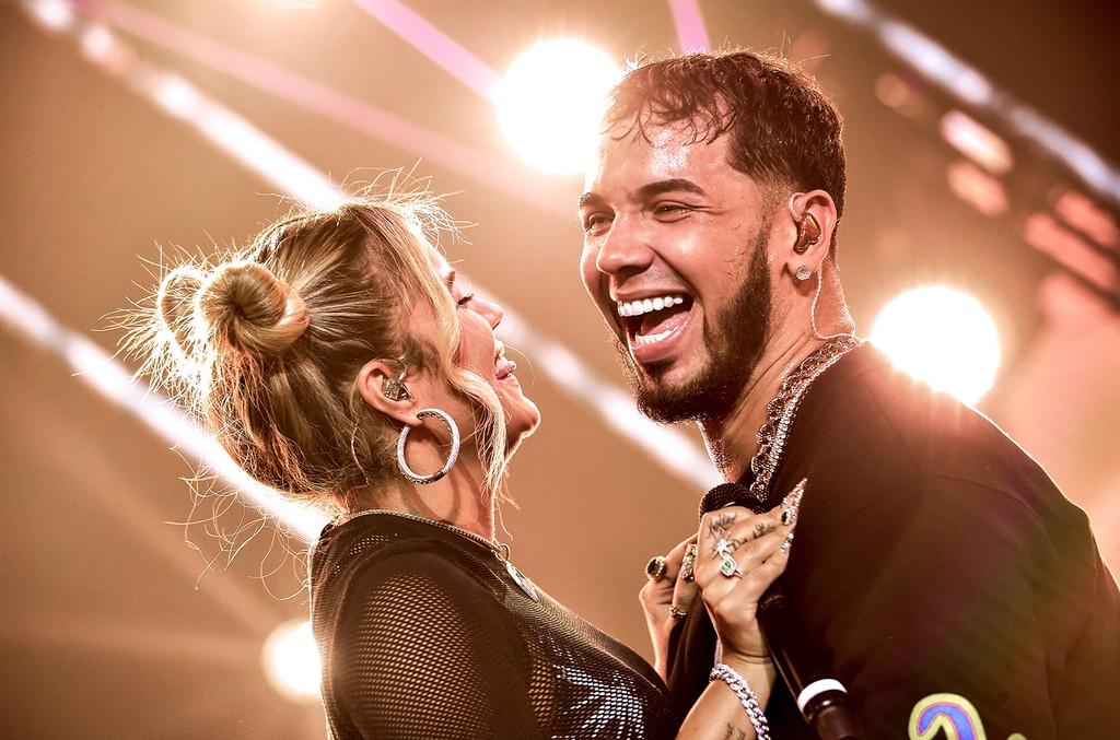 Karol G and Anuel AA