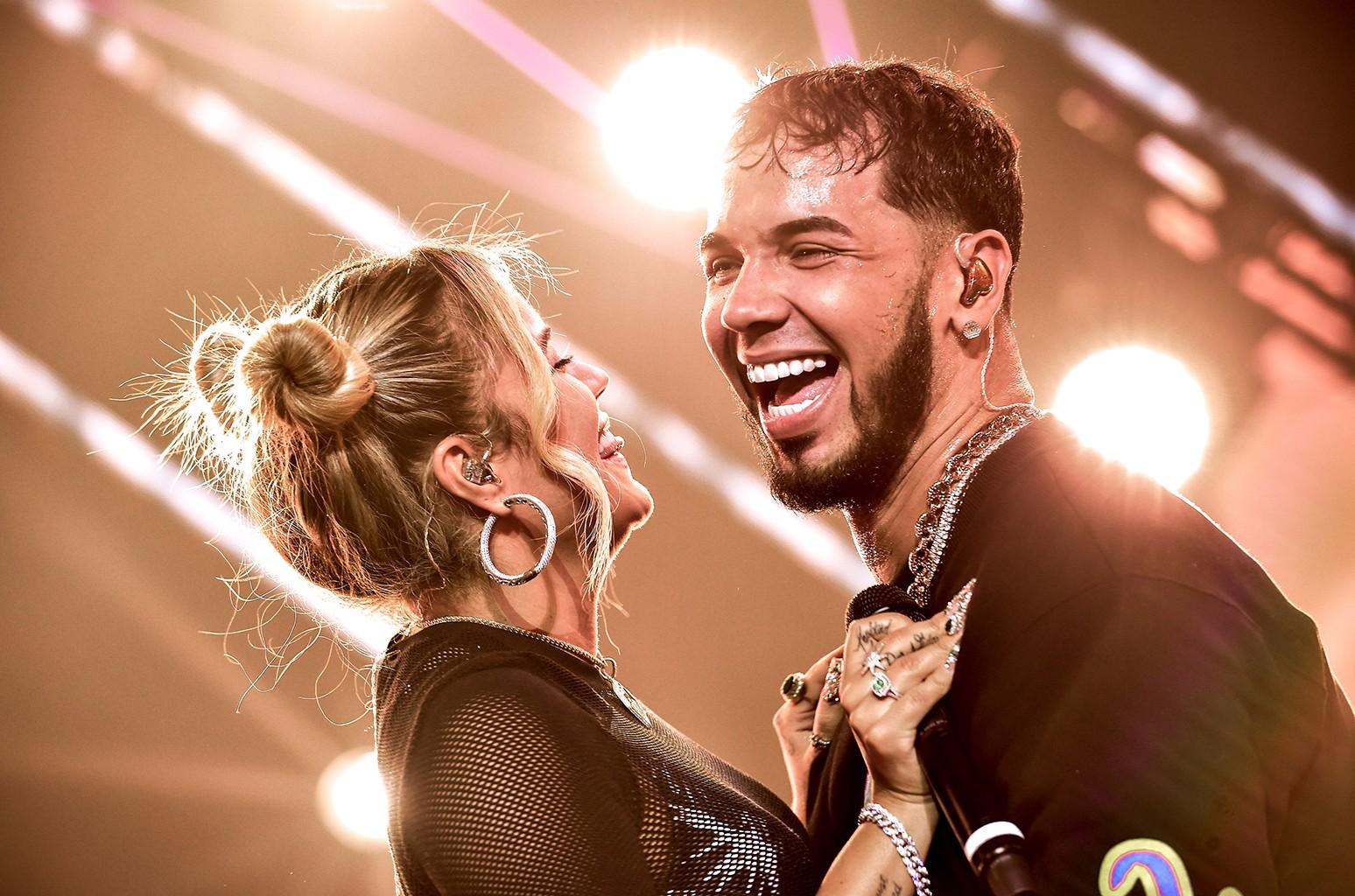 Karol G and Anuel AA