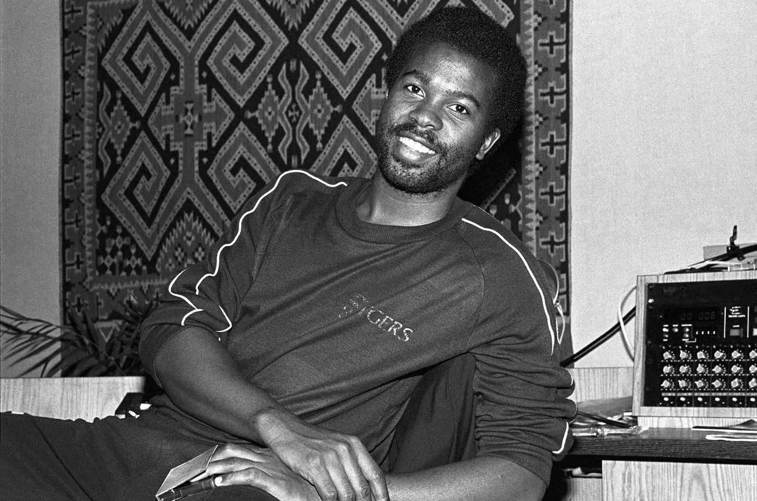 Kashif at Sigma Sound Studios in New York City on Nov. 4, 1981.