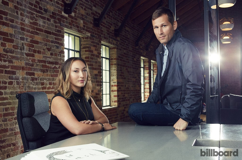 Stephanie LaFera and Kaskade photographed on May 4, 2016 in Santa Monica, Calif.