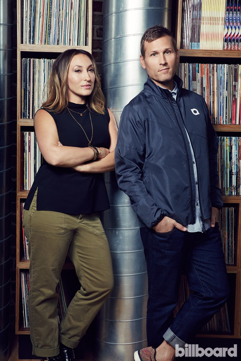LaFera and Kaskade photographed by Christopher Patey on May 4 in Santa Monica.