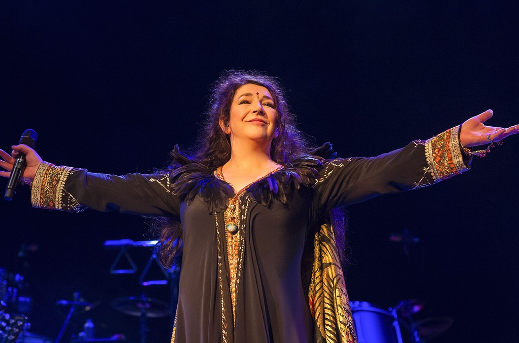Kate Bush: Before The Dawn live at The Eventim Apollo, Hammersmith in London on Aug. 26, 2014.