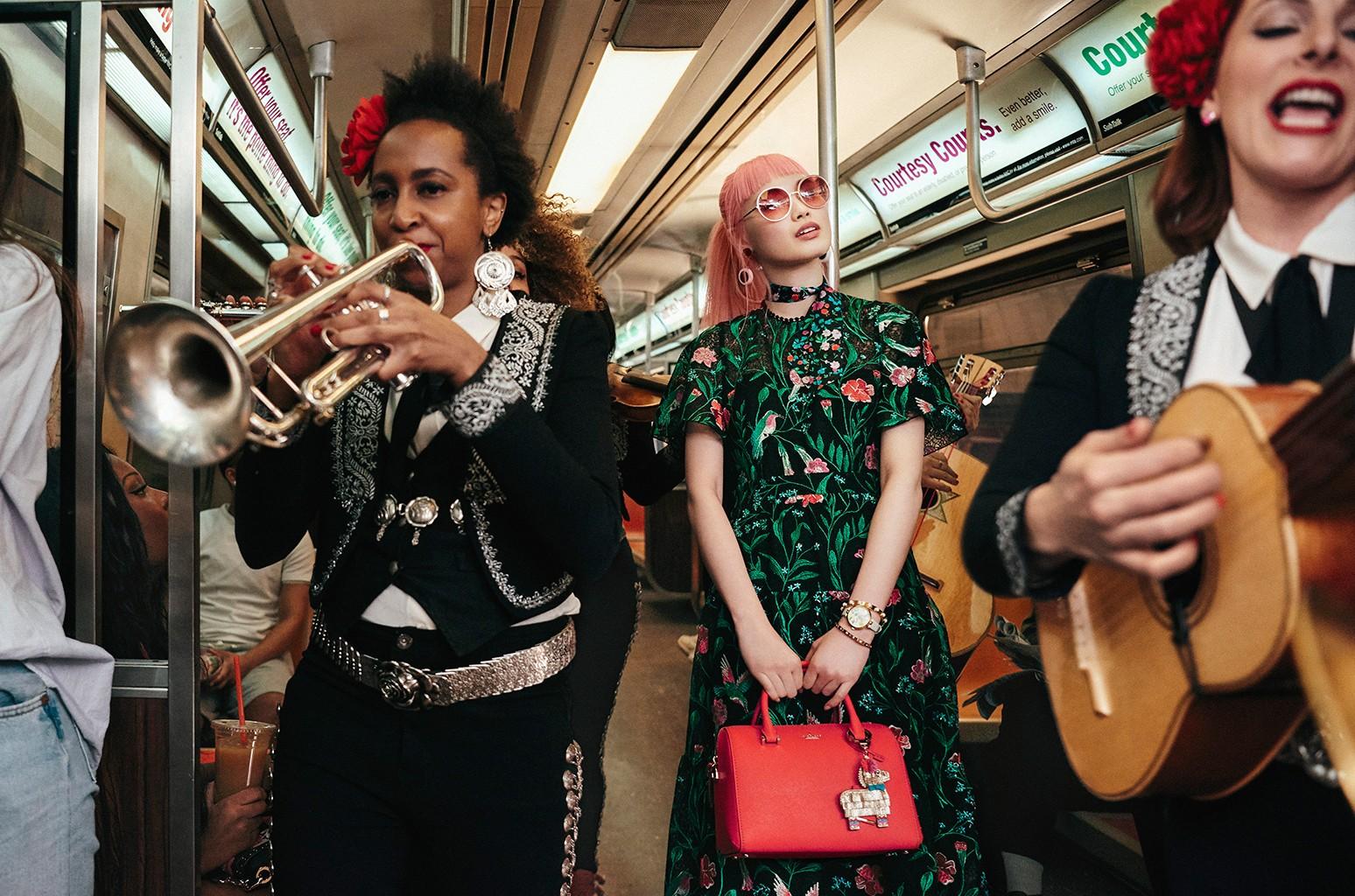 Kate Spade New York Summer 2017 Campaign featuring Mariachi Flor de Toloache