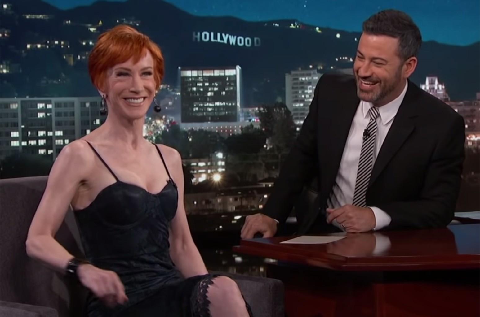 Kathy Griffin on Jimmy Kimmel Live!