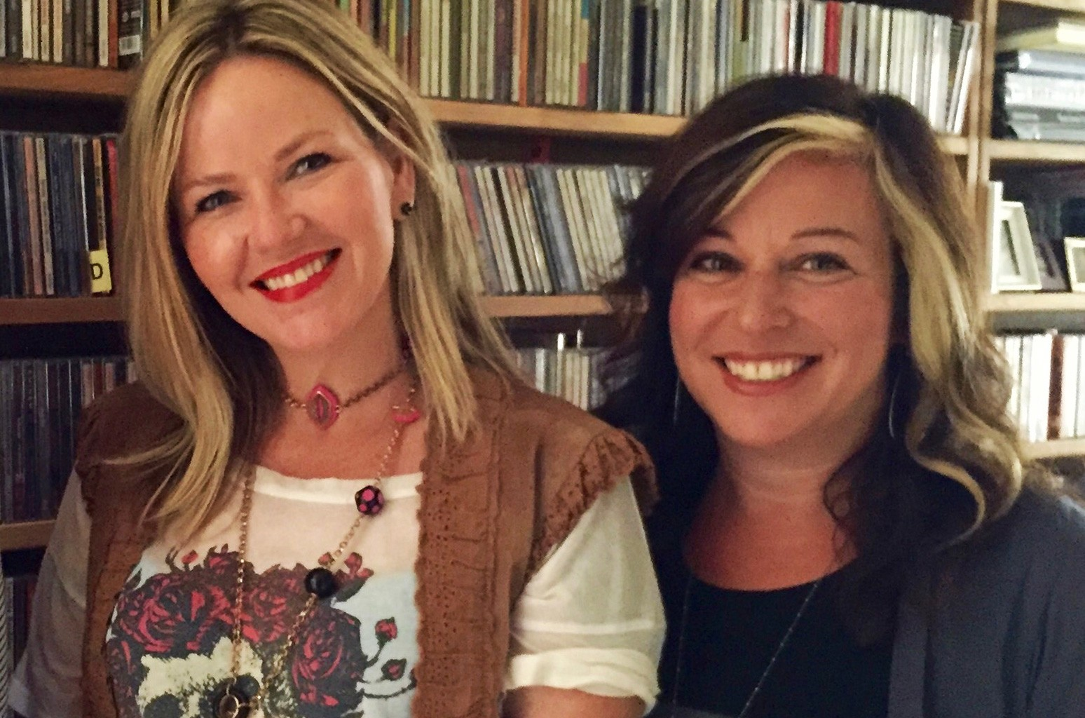 Kay Hanley and Michelle Lewis