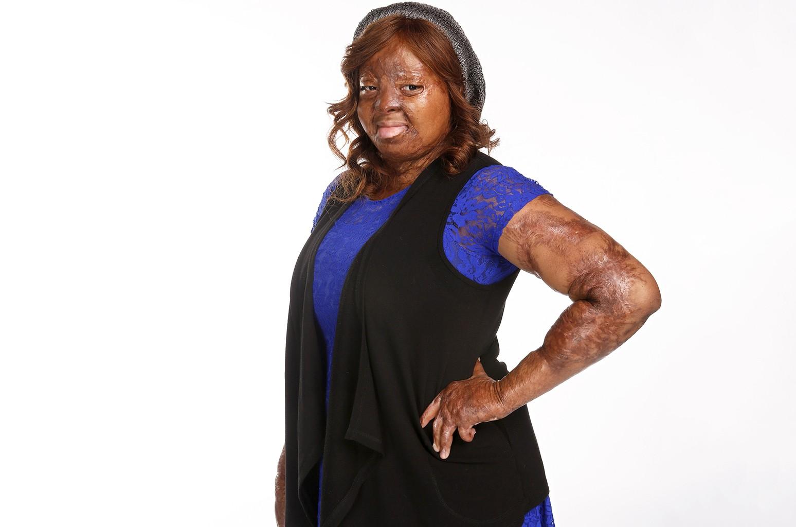 Kechi Okwuchi in a portrait for America's Got Talent.