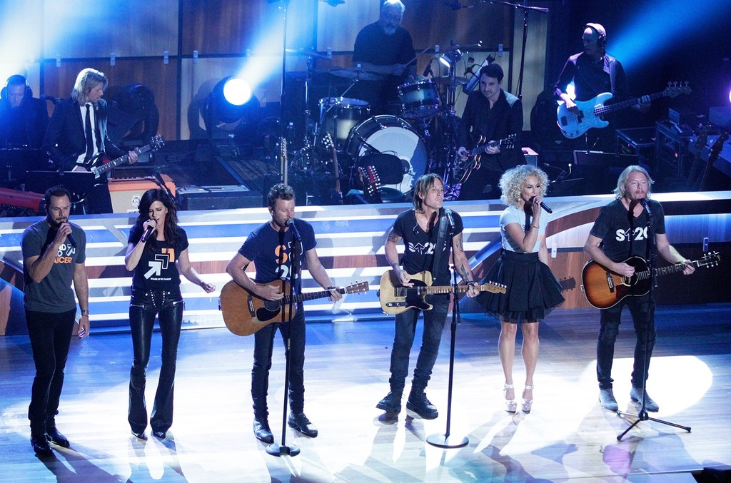 Little Big Town, Dierks Bentley and Keith Urban