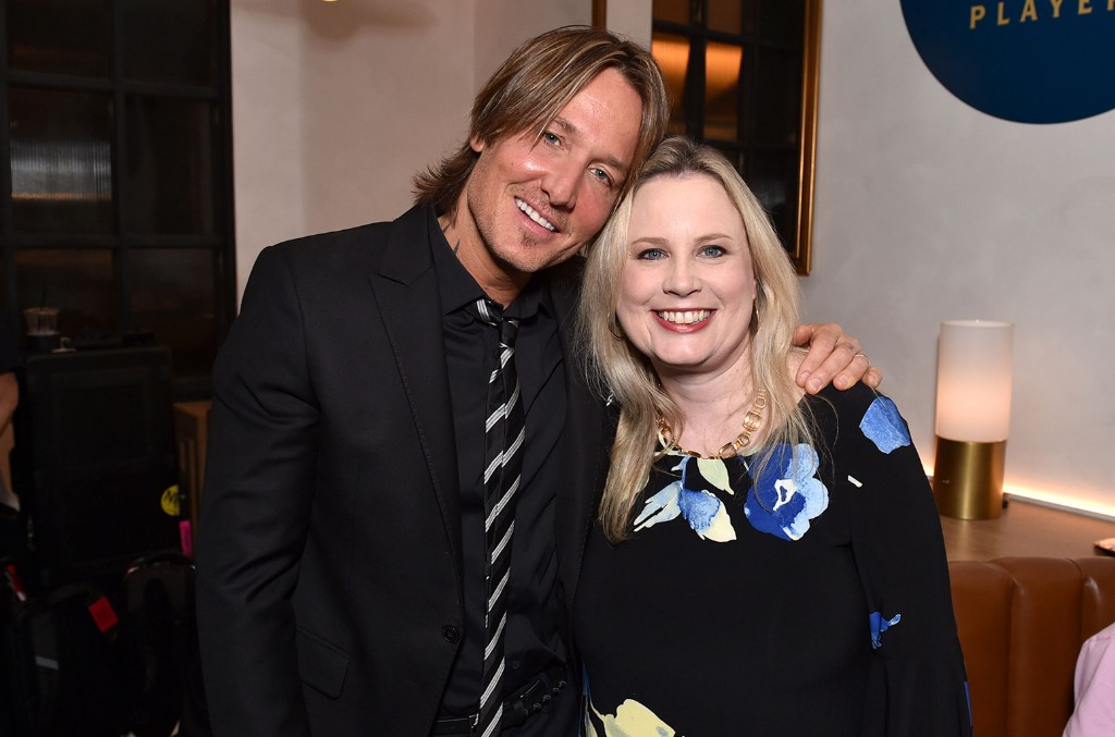 Keith Urban and Cindy Mabe