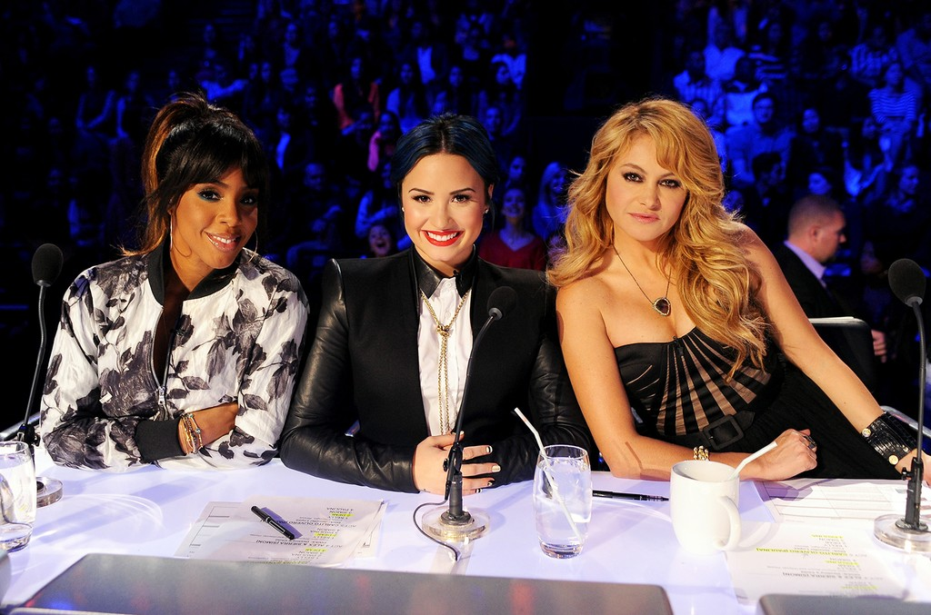 Kelly Rowland, Demi Lovato and Paulina Rubio