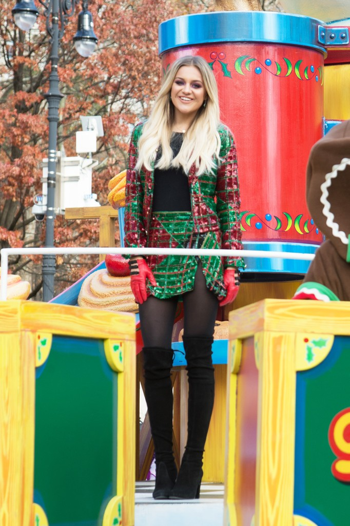 Kelsea Ballerini attends the 90th Annual Macy's Thanksgiving Day Parade on Nov. 24, 2016 in New York City.