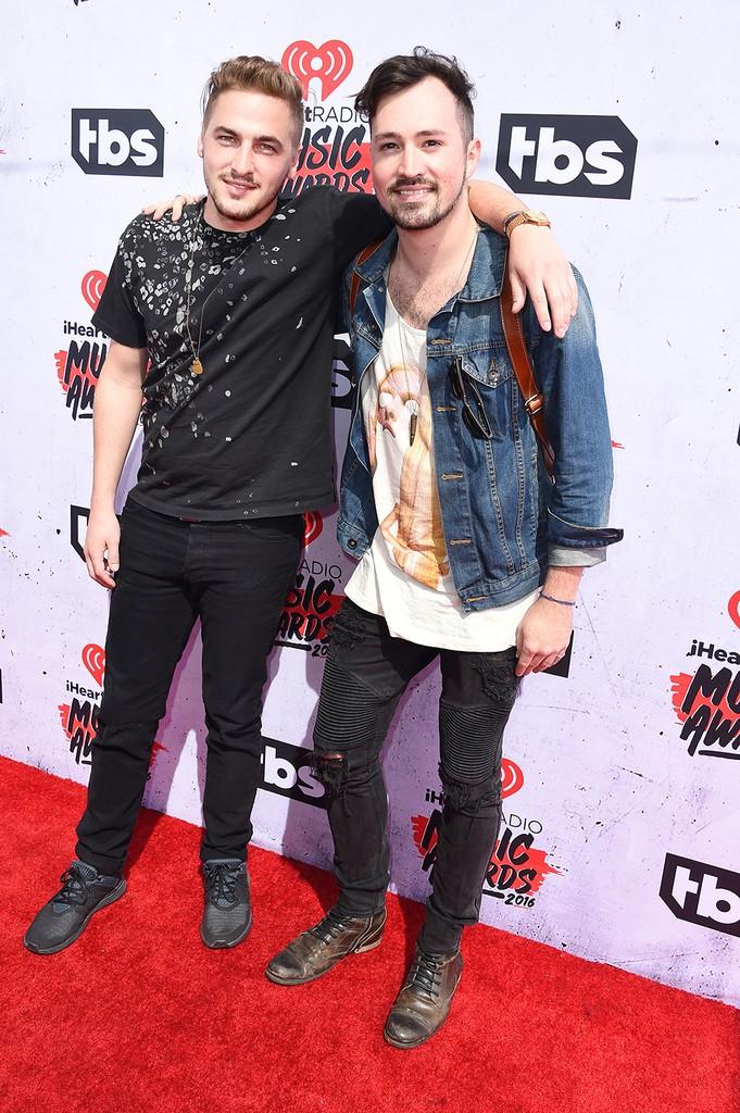 Kendall Schmidt and Dustin Belt