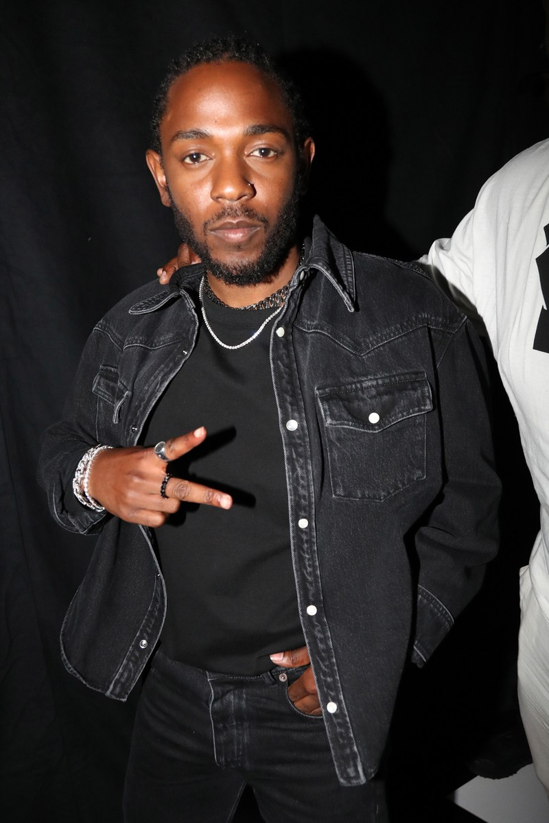 Kendrick Lamar poses backstage at the 2017 BET Awards at Microsoft Theater on June 25, 2017 in Los Angeles.