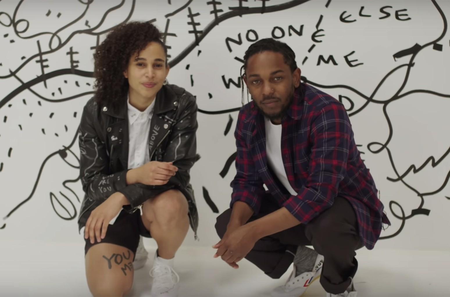 Kendrick Lamar and Shantell Martin: Live in Miami.