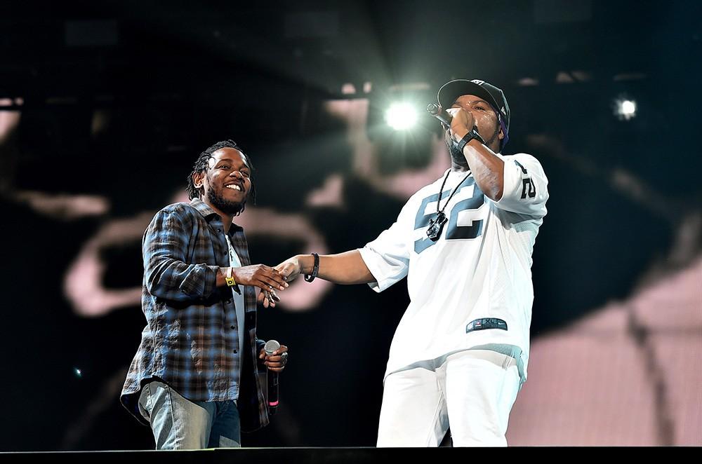 Kendrick Lamar and Ice Cube