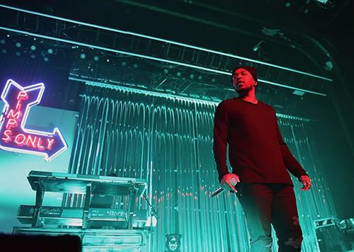 Kendrick Lamar performs in Atlanta