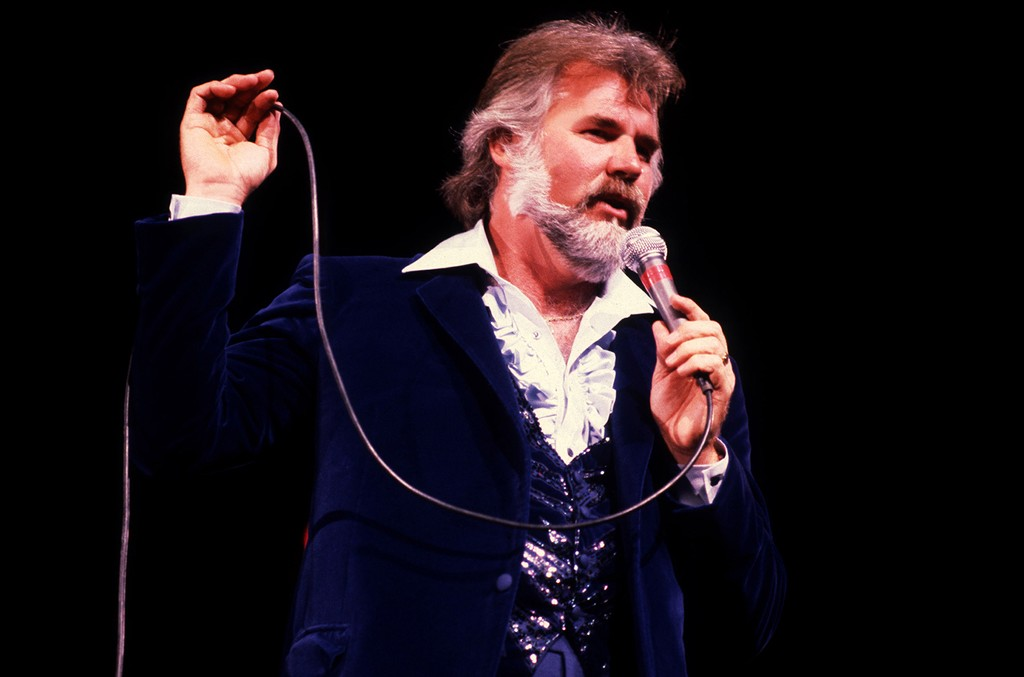 Kenny Rogers performs at the Rosemont Horizon on May 17, 1980.