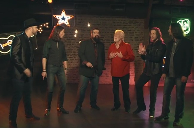 Kenny Rogers and Home Free